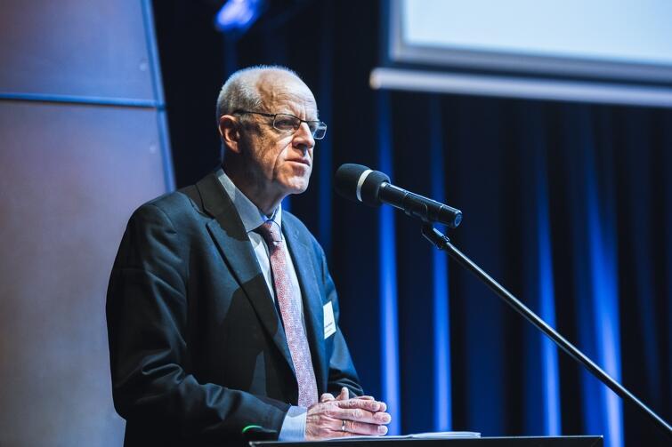 Mogens Blicher Bjerregård - przewodniczący Europejskiej Federacji Dziennikarzy (European Federation of Journalists)