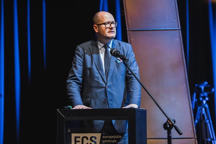 Gości powitał także prezydent Gdańska Paweł Adamowicz