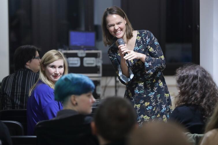 Agata Andrasiak - Instytut Kultury Miejskiej, koordynator programu 'Sieć Kultury'
