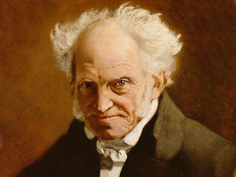 """Artur Schopenhauer, twórca poglądu """"świat jest moim wyobrażeniem"""", urodził się 22 lutego 1788 roku w Gdańsku"""