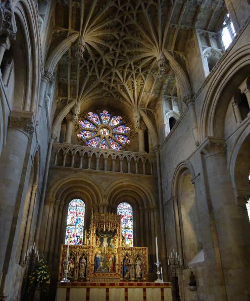 Wnętrze kościoła w Christ Church