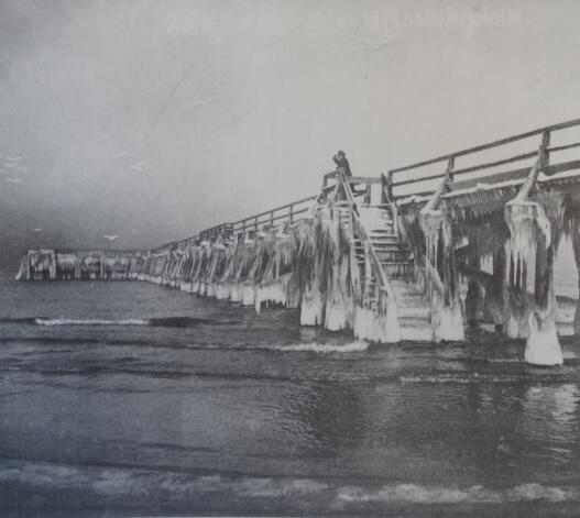 Sztorm i wysoka fala w styczniu 1914