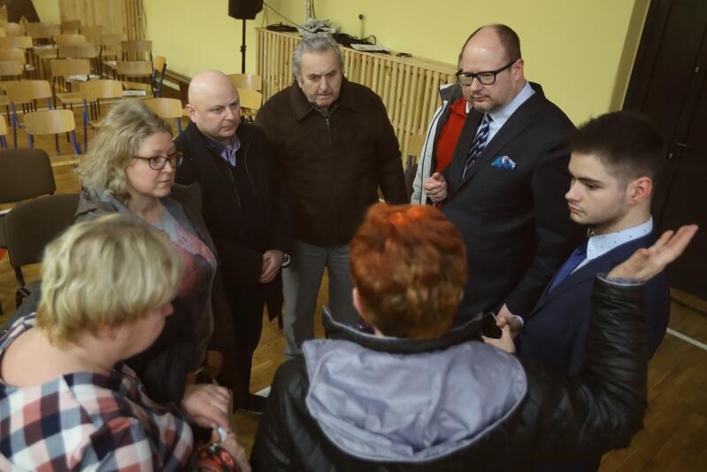 7 marca prezydent Gdańska spotkał się z mieszkańcami Krakowca i Górek Zachodnich