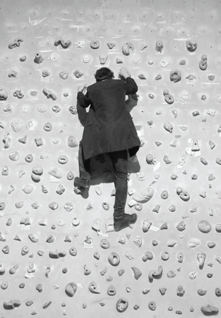 Dominik Lejman specjalizuje się w wideofreskach, które do złudzenia przypominają ruchome dzieła malarskie