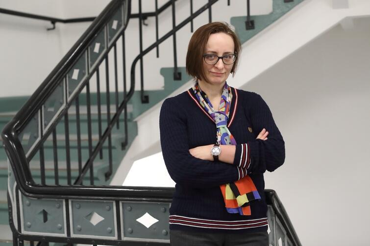 Jadwiga Charzyńska od 15. lat jest dyrektorem gdańskiego Centrum Sztuki Współczesnej 'Łaźnia' - czyli niemal tyle, ile ma sama instytucja