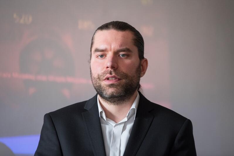 Założenia projektu Trójmiasto Oddycha przedstawił Karol Spieglanin, prezes Forum Rozwoju Aglomeracji Gdańskiej