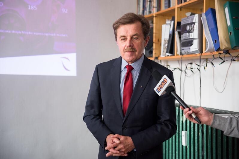 Prof. Cezary Orłowski, informatyk z Wyższej Szkoły Bankowej w Gdańsku