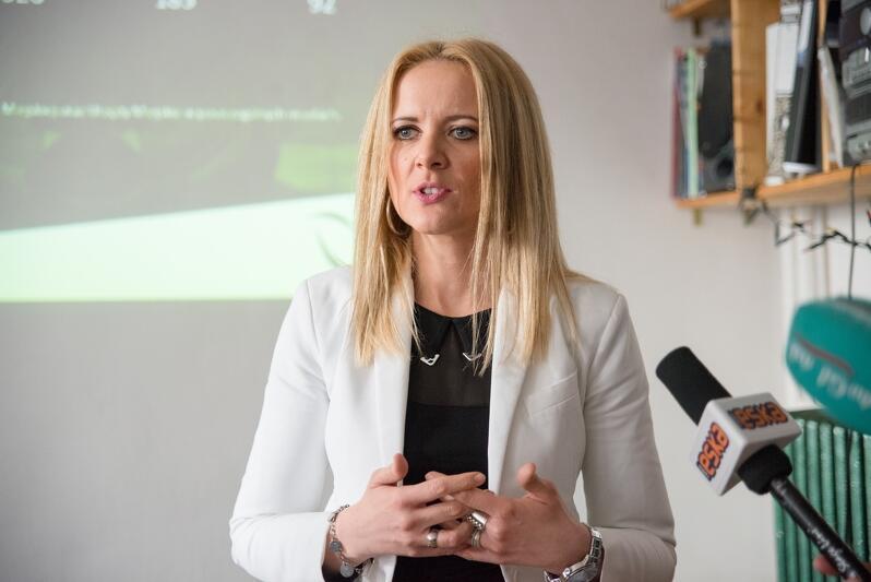 Monika Wszeborowska z LPP - siedziba gdańskiego producenta odzieży mieści się na Dolnym Mieście