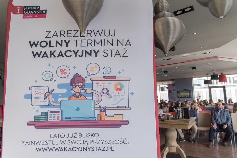 Gala finałowa podsumowująca XV edycję Wakacyjnego Stażu w 2017 r