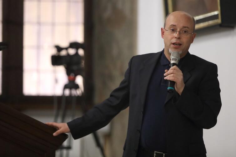 Gościem piątej debaty był prof. Andrzej Leder