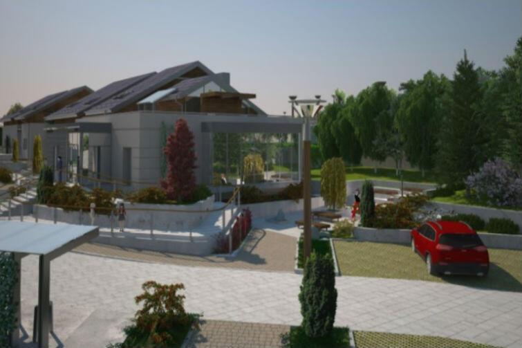 Całkowita powierzchnia zabudowy wyniesie 1 145 m2