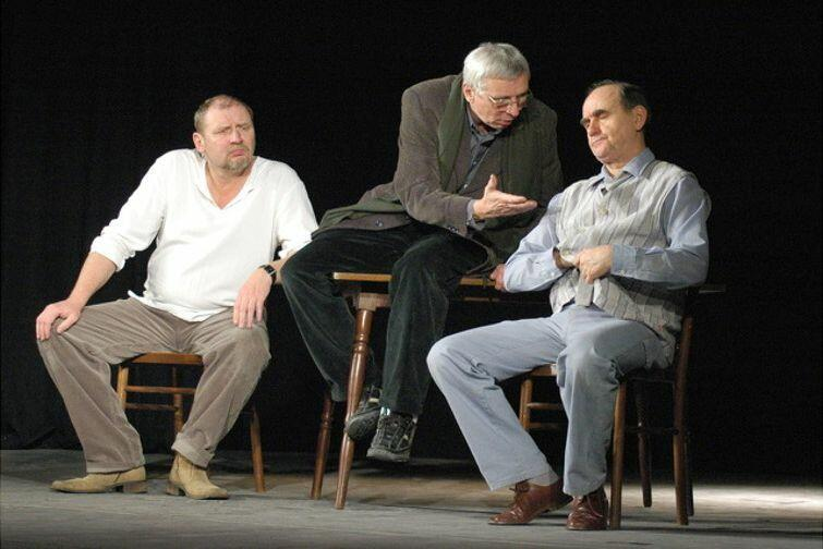 'Scenariusz dla trzech aktorów'
