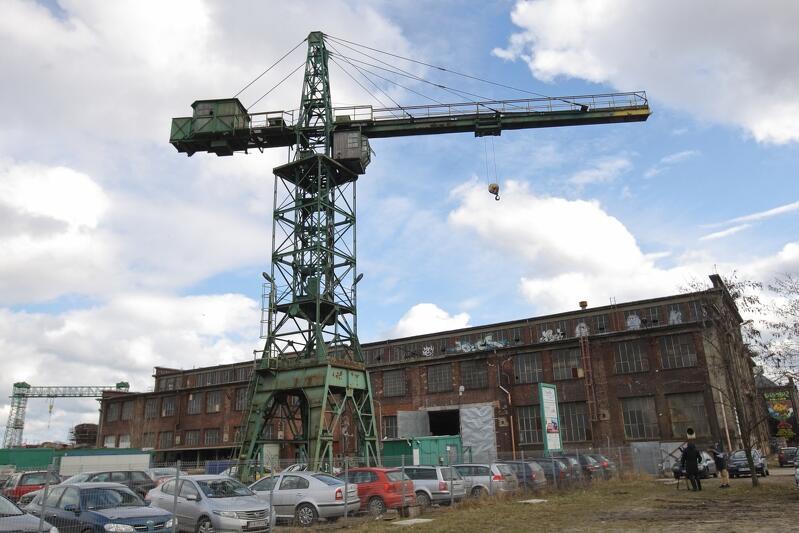 Właśnie ogłoszono konkurs na iluminację gdańskiego dźwigu stoczniowego