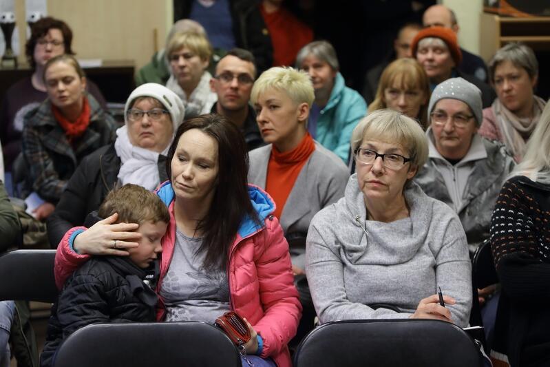 Na spotkaniu z pracownikami gdańskiego magistratu pojawiło się kilkudziesięciu mieszkańców, głównie ul. Biskupiej i Na Stoku