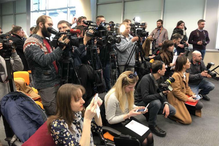 Zainteresowanie inauguracją połączenia lotniczego z Gdańskiem jest we Lwowie bardzo duże. W konferencji prasowej na lotnisku uczestniczyli dziennikarze z 20 ukrańskich redakcji