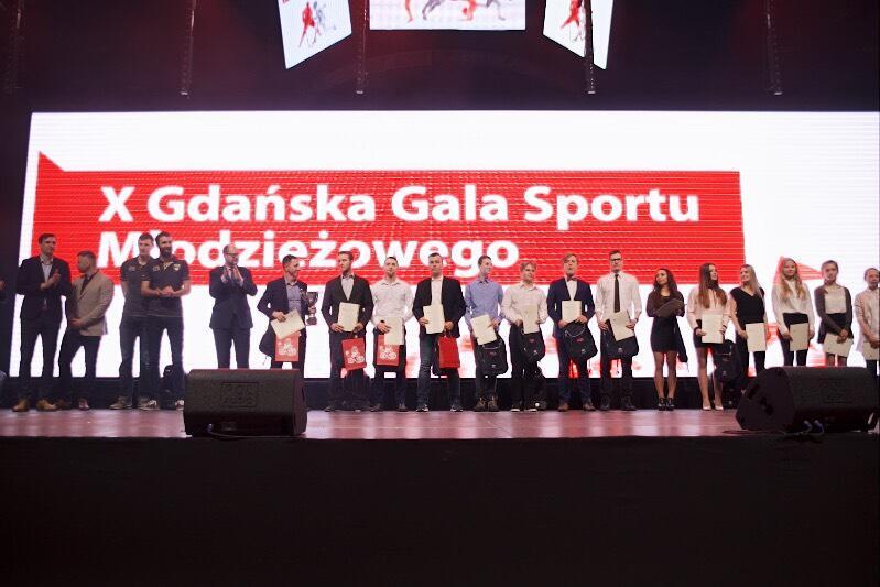 Młodzi mistrzowie gdańskiego sportu za rok 2017 zostali nagrodzeni
