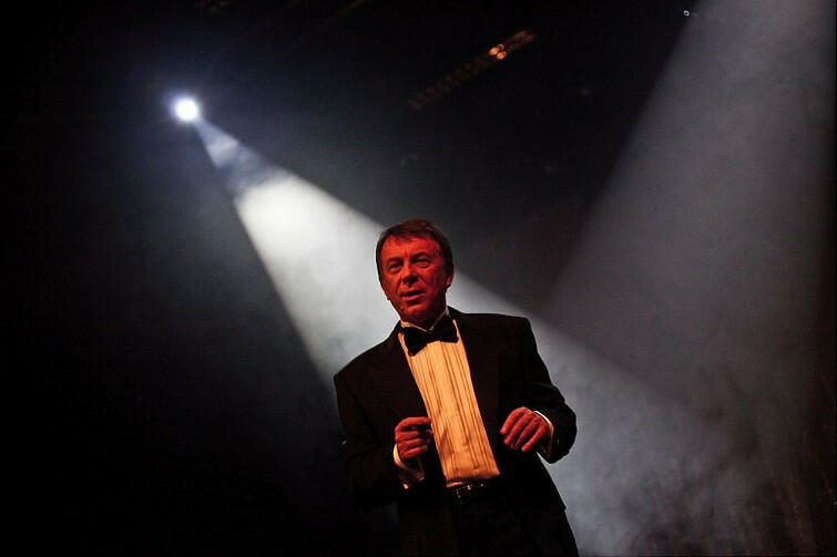 Wojciech Gąssowski na scenie