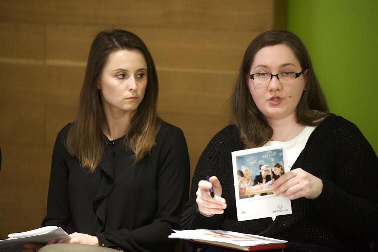 Od lewej: Paulina Metelska i Anna Michalska, ekspertki Polskiego Towarzystwa Programów Zdrowotnych