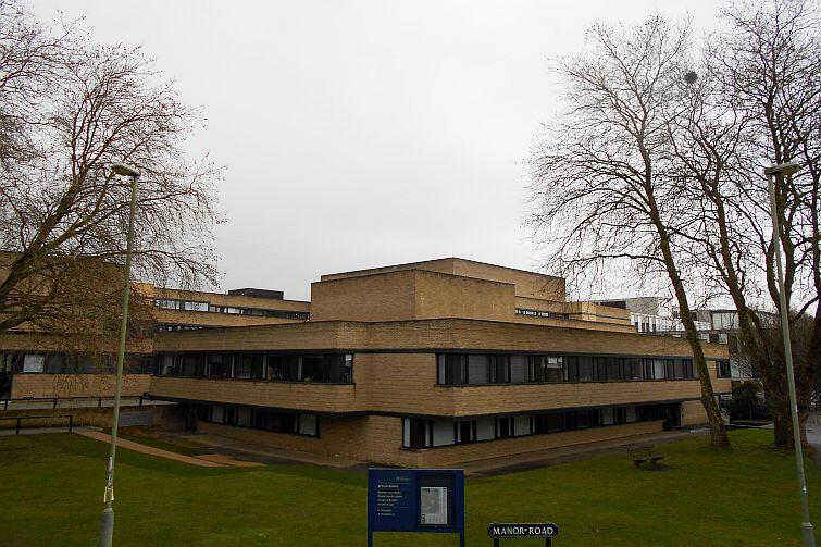 Biblioteka wydziału prawa, zwana przez studentów Law Bod