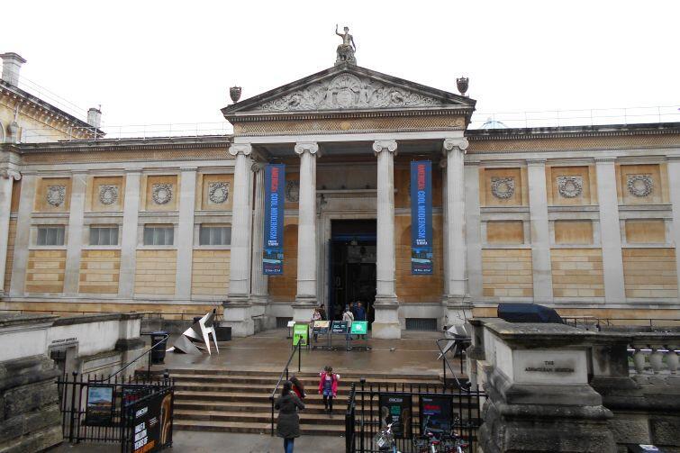 Kolejna skarbnica wiedzy: muzeum Ashmolean
