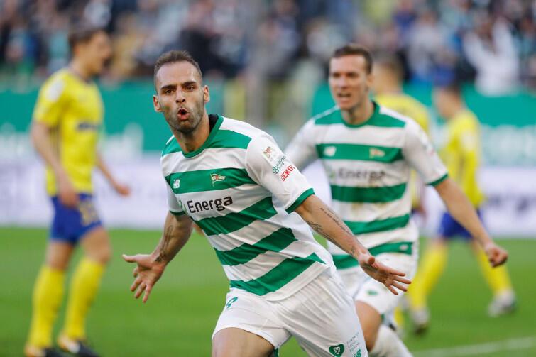 Trójmiasto jest jego: Flavio Paixao zdobył hat-tricka w meczu z Arką Gdynia