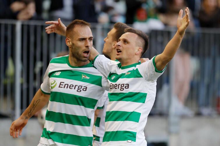 Sławek Peszko - biało zielony bohater zdobył gola na 2:0
