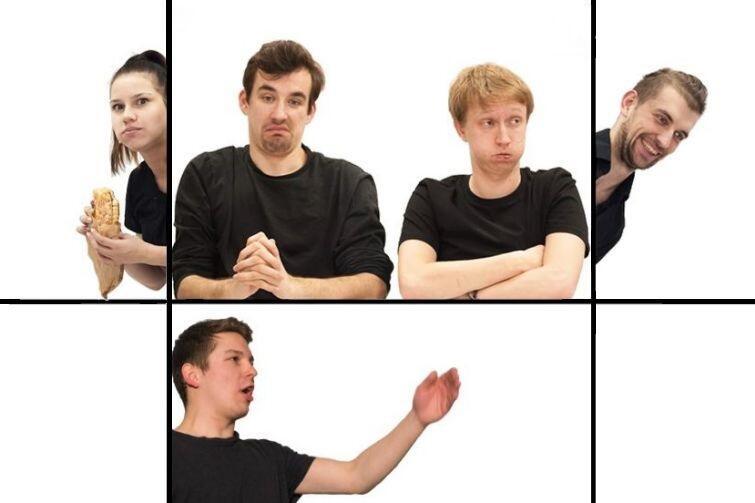 Zespół No i Fajnie prezentuje humor w ciekawej formie: tworzonej na żywo, bez scenariusza, za to z udziałem publiczności