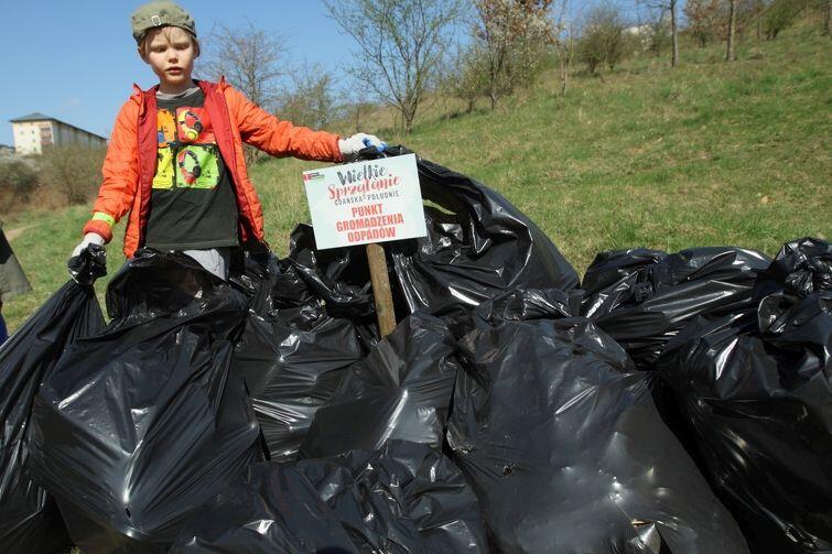 W 2017 r. mieszkańcy dzielnic południowych zebrali 10 t odpadów