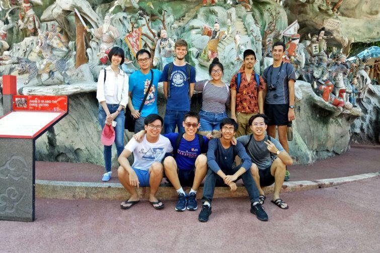 Zwiedzając Singapur z lokalnymi studentami