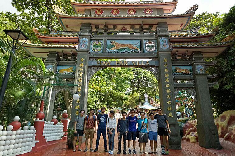 Ukryte skarby Singapuru ,czyli miejsca, gdzie turysta sam nie trafi – Haw Par Villa