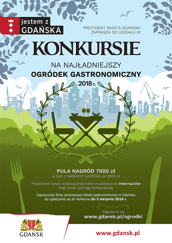 Najładniejszy ogródek gastronomiczny 2018