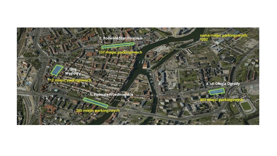 Parkingi mapa