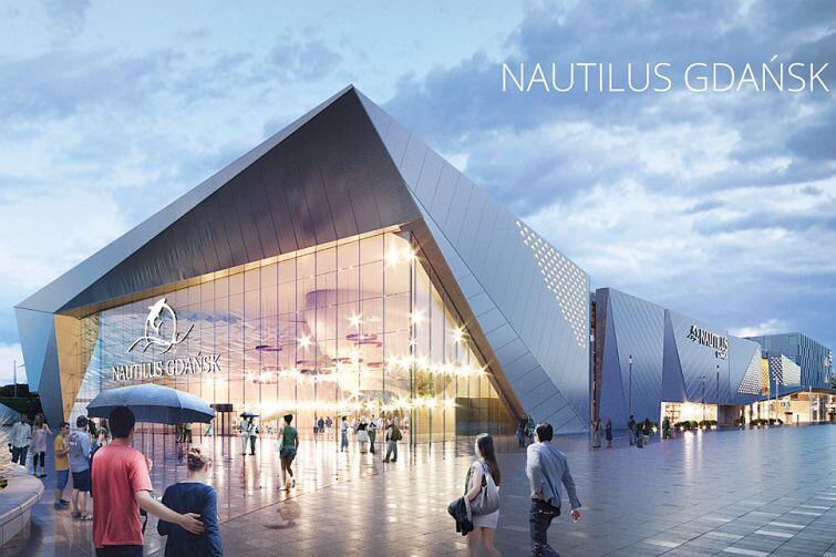 Nautilus - oceanarium i laguna. Znamy datę otwarcia WIZUALIZACJE