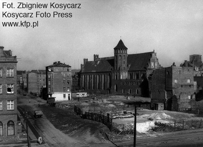 Kościół św. Mikołaja w 1959 r.