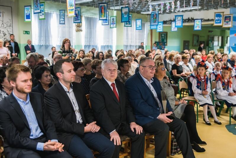 Wydarzeniu wzięli także udział dwaj gdańscy radni, wybrani w ostatnich wyborach samorządowych. Od lewej:Jan Perucki (KO) i Karol Ważny (KO)