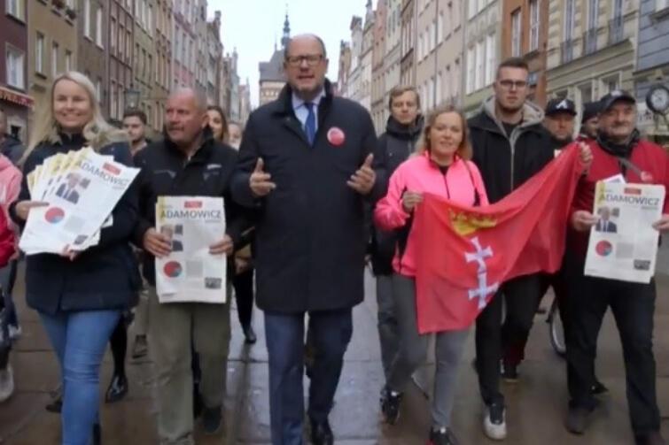 Prezydent Paweł Adamowicz zachęca gdańszczan do udziału w 'Bitwie o frekwencję'