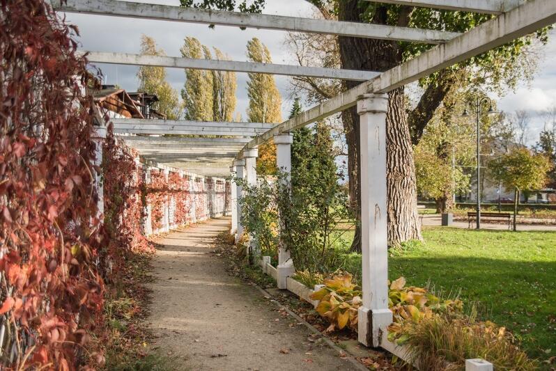 Brama i pergola w Parku Brzeźnieńskim im. Jana Jerzego Haffnera są w złym stanie technicznym. Ich remont lub wymiana poszczególnych części byłyby nieopłacalne finansowo, dlatego zdecydowano się na wymianę obu konstrukcji. Prace rozpoczęły się w poniedziałek, 29 października