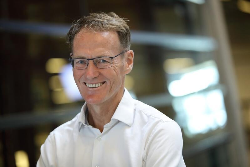 Albert Engels z Urzędu Miejskiego w Rotterdamie, koordynator projektu Ruggedised, w którym uczestniczy również Gdańsk