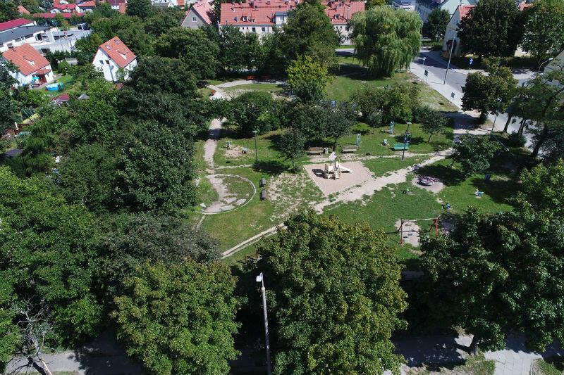 Park Buczka na Starym Chełmie