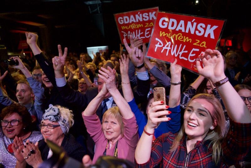 Na Pawła Adamowicza głosowała większość osób, które poszły do wyborów