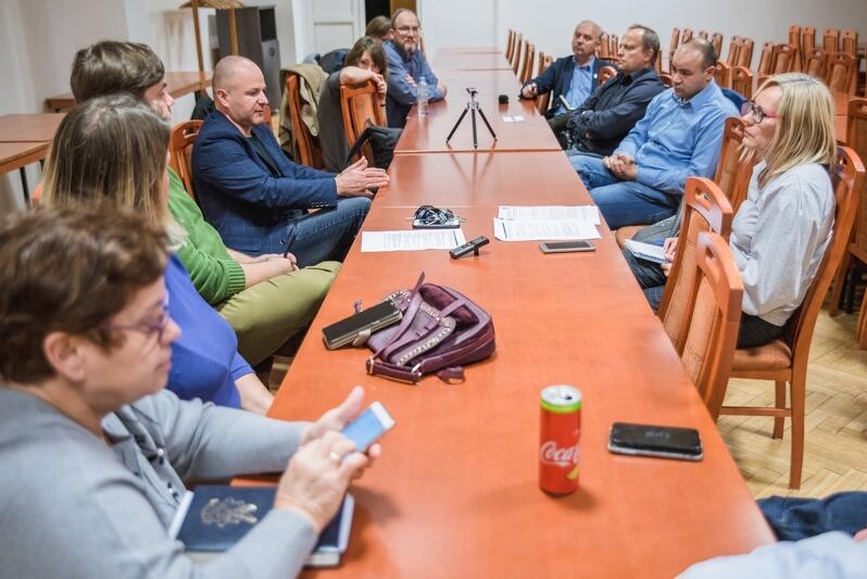 W poniedziałek odbyło się spotkanie z mieszkańcami poświęcone Budżetowi Obywatelskiemu