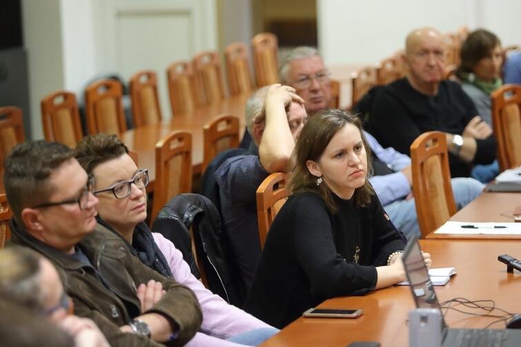Wtorkowe spotkanie odbyło się w Domu Technika NOT przy ul. Rajskiej