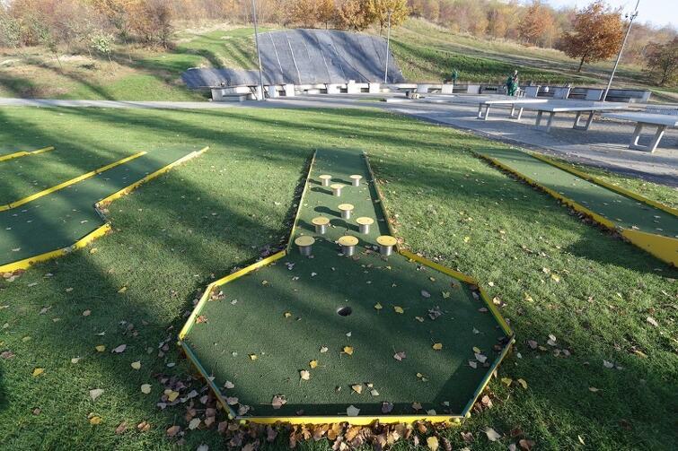 Na terenie tego parku będzie można zagrać m.in. w minigolfa