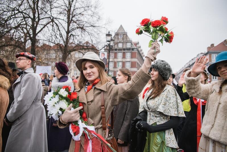 Radosna i przede wszystkim pokojowa - taka jest parada w Gdańsku