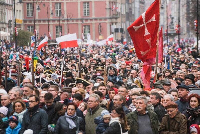 Mobilizacja gdańszczan, by wspólnie świętować 100-lecie odzyskania przez Polskę niepodległości, zasługuje słowa uznania