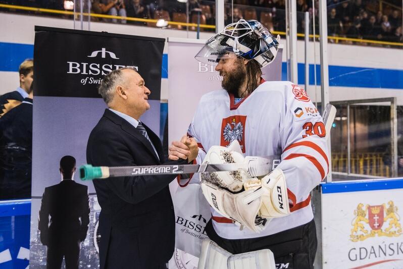 Przemysław Odrobny został wybrany najlepszym zawodnikiem meczu