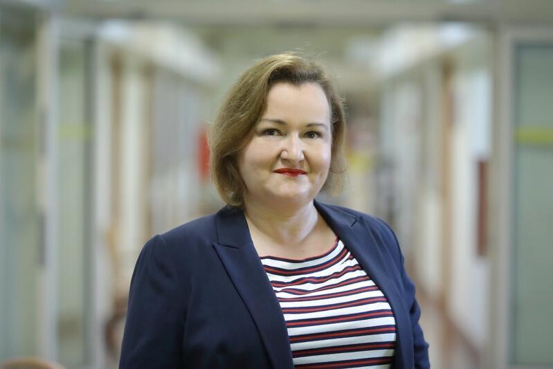 Joanna Tobolewicz, Ruggedised coordinator in Gdańsk - photo G. Mehring / gdansk.pl