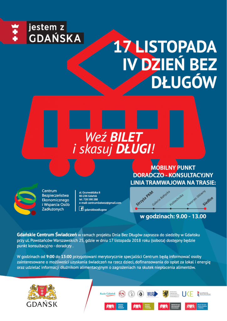 Plakat kampanii Dzień bez długów