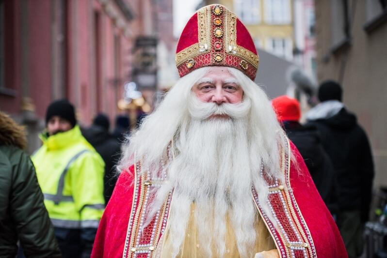 W rolę św. Mikołaja wcielił się Olaf Lubaszenko