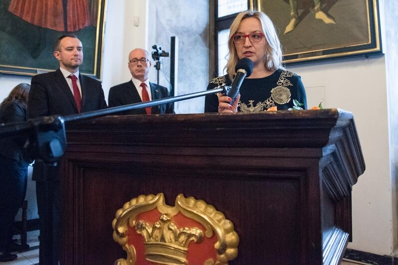 Agnieszka Owczarczak została przewodniczącą Rady Miasta Gdańska VIII kadencji